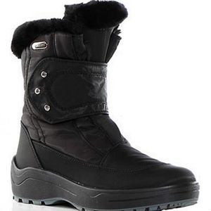 NWOB PAJAR Moscou black ankle winter boots